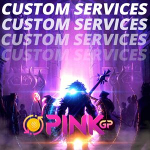Order any service that you want done, we fit your needs here in pinkgp
